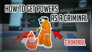 [NEW GAME] HOW TO GET SUPER POWERS AS A CRIMINAL! | Mad City | ROBLOX
