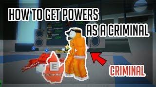 [NUOVO GIOCO] COME OTTENERE SUPER POWERS AS A CRIMINAL! Città Pazza Roblox