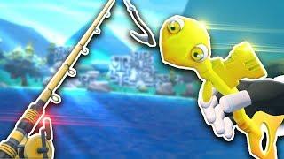 ЧТО ЭТО ЗА РЫБА В ВР?! - Crazy Fishing VR - HTC Vive ВИРТУАЛЬНАЯ РЕАЛЬНОСТЬ