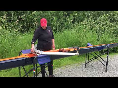 Sculling 101   Part 1   Carrying the Boat: From Slings to Dock