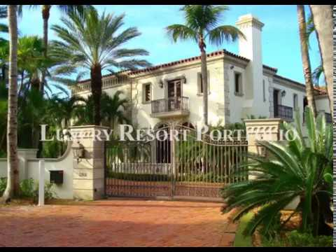 Luxury Resort Portfolio - Palm Beach Mansions