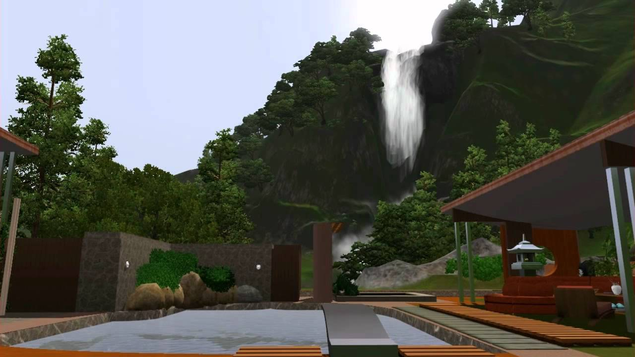 Sims 3 ORIENTAL Modern House YouTube