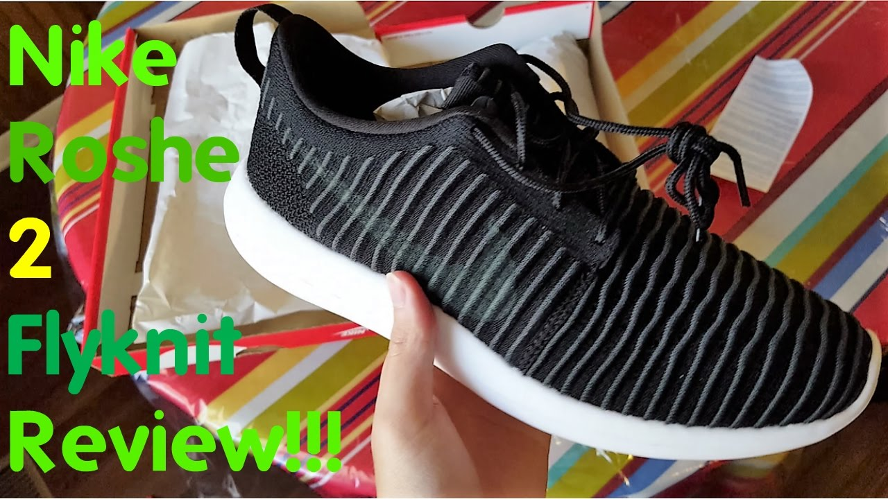 online store b5ab6 3d954 Nike Roshe Two Flyknit Review!!! - YouTube