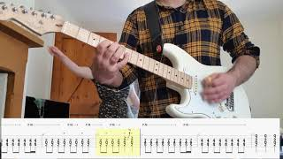 Faraquet - Study In Complacency - Guitar Cover Tutorial with TABS