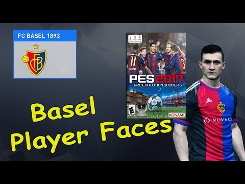 PES 2017 - Basel Player Faces