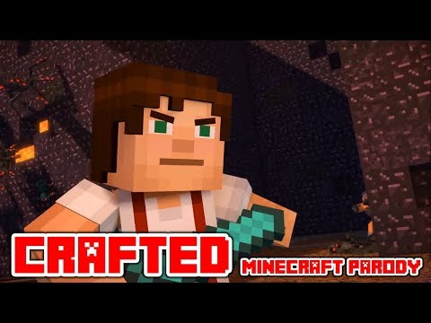 """Minecraft Song And Videos """"Crafted"""" A Minecraft Parody Of Perfect By One Dirrection"""