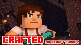 "Minecraft Song and Videos ""Crafted"" A Minecraft Parody of Perfect By One Dirrection"