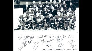 1943 Wings Champs as League Struggles