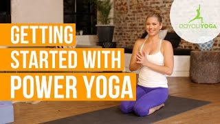 Getting Started with Power Yoga | Day 1| 14 Day Power Yoga Challenge