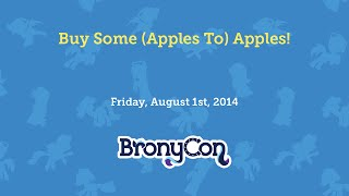 Buy Some (Apples To) Apples!