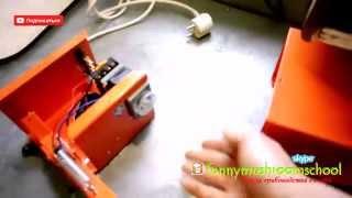 Вешенка. Как сделать запайщик пакетов для мицелия?(Это видео содержит материал о том, как устроен прибор для спайки пакетов для производства мицелия. Лично..., 2014-05-05T13:52:06.000Z)
