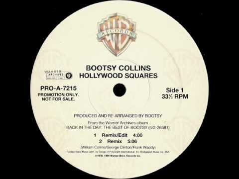 Bootsy Collins.- Hollywood squares remix