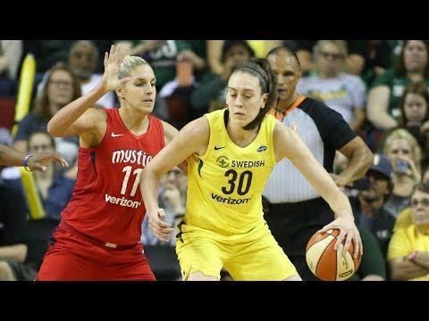 Breanna Stewart Drops 25 PTS in EPIC WNBA Finals Game 2