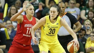 Breanna Stewart Drops 25 PTS in EPIC WNBA Finals Game 2