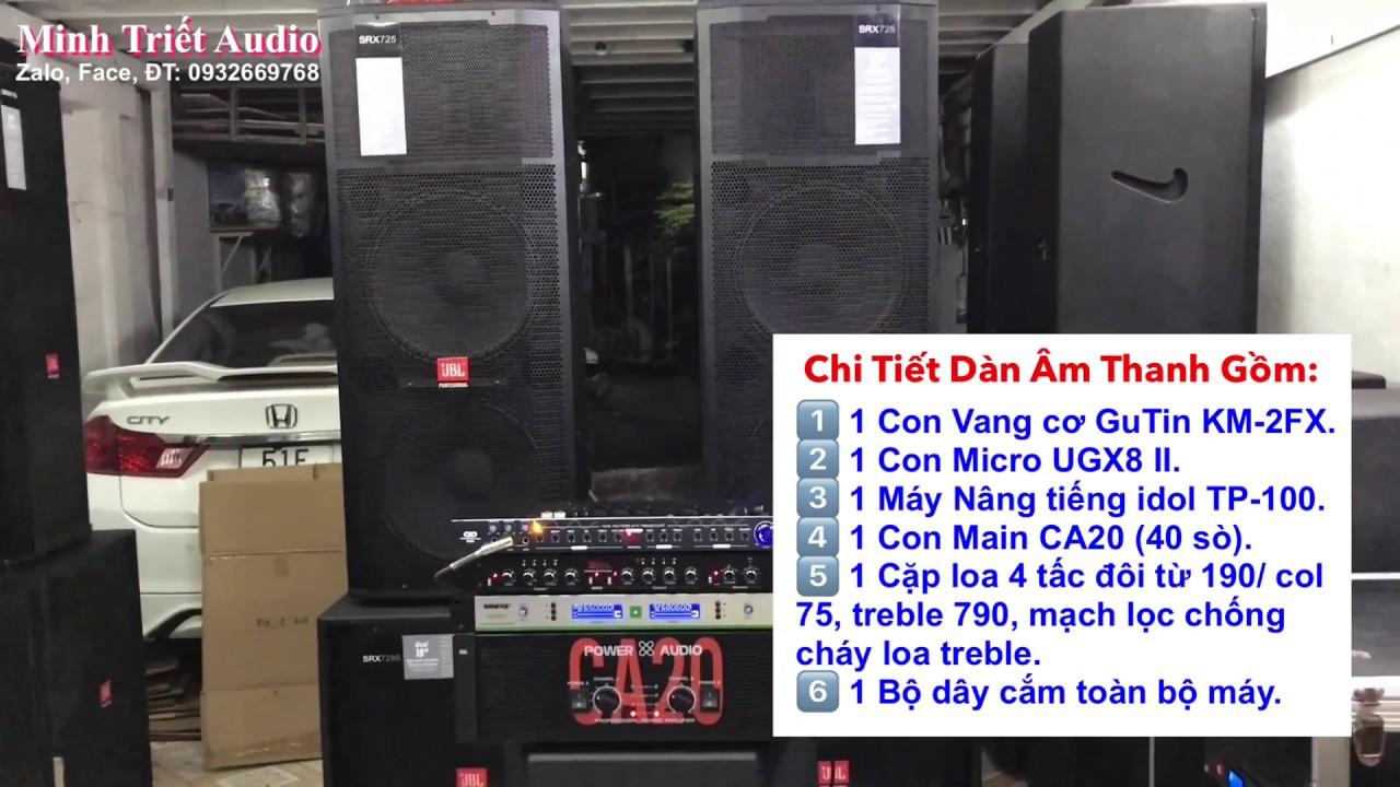 test Dàn âm thanh sân khấu giá 17tr800 |  Dàn âm thanh nhạc sống | LH 0932669768 Minh Triết Audio