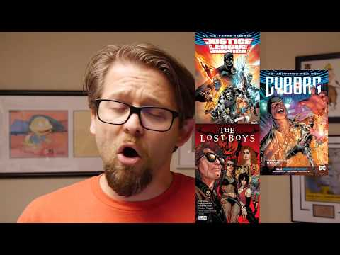DC Comics Review: Justice League of America, Cyborg, and Lost Boys