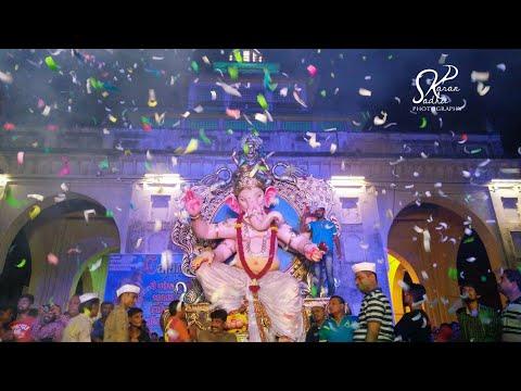 Vadodara Ganesh Aagman 2017 !! Vadodara Ganesh utsav !! Ganpati Bappa Morya!!