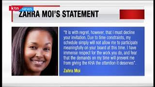 Zahra Moi: Why I declined appointment to KNH board