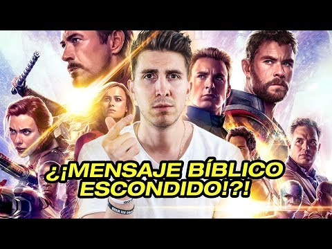 El Mensaje Bíblico Escondido en Avengers: Endgame [ SIN SPOILERS ]