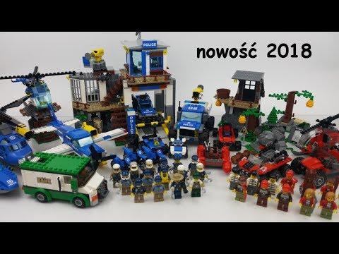 Lego City 60174 Górski Posterunek Policji Nowość 2018 Youtube