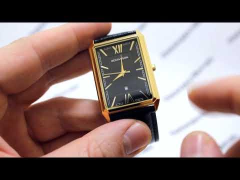 Часы Romanson Adel TL 4206 MG(BK)BK - видео обзор от PresidentWatches.Ru