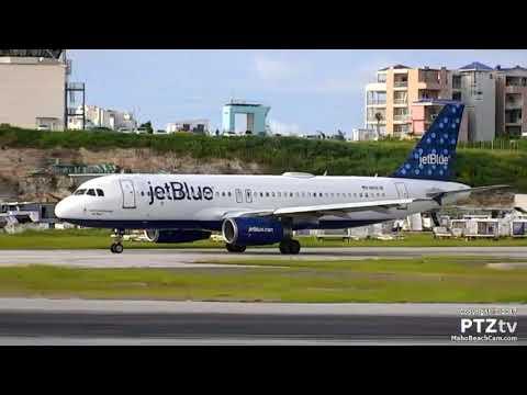 JetBlue A320 at St. Maarten SXM 11/9/2017