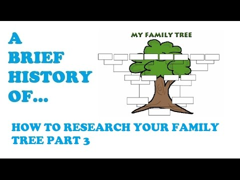 How to research your family Surname