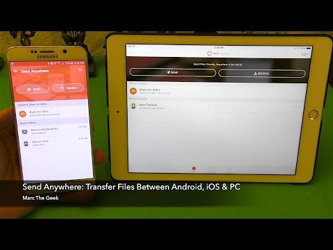 Send Anywhere: Transfer Files Between Android, IOS & PC