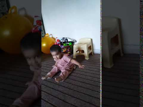Cute Baby Funny Jump!!!! Funny Baby Jumps Over Floor #BabyShark #TryNotToLaugh   MRM Vlog#207