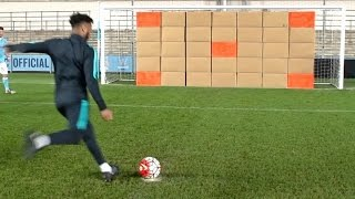 Soccer Trick Shots | Dude Perfect(It's soccer (football) time! ▻See the football vs football video we did with Soccer AM! http://bit.ly/FootballVsFootballVideo ▻Click HERE to watch us play Bubble ..., 2016-01-18T20:55:59.000Z)