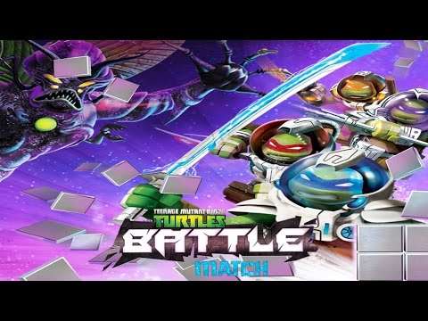 TMNT Battle Match - Ninja Turtles Matching Game (by Nickelodeon) - iOS/Android - HD Gameplay Trailer
