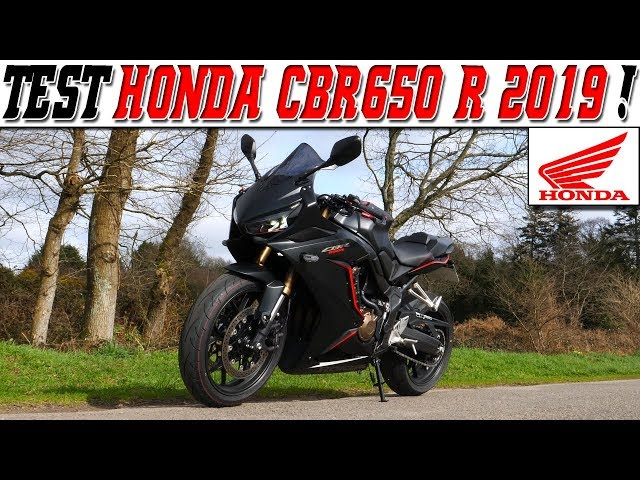 #MotoVlog 203 : TEST HONDA CBR650 R 2019 95Ch / j'aimerai plus de peps ! 🤔