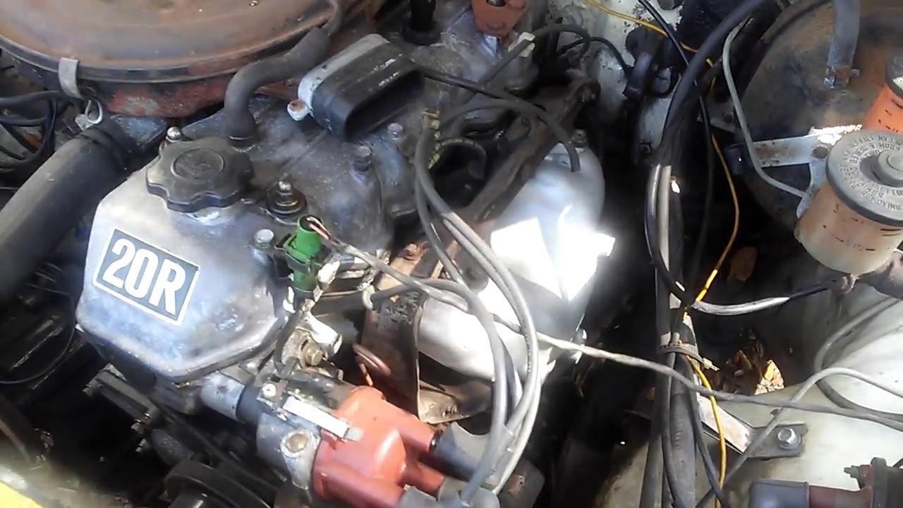 Toyota 20R Engine Running Rough
