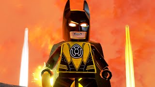 LEGO Batman 3: Beyond Gotham - Batman (Sinestro Corps) Gameplay (Batman 75th Anniversary DLC)