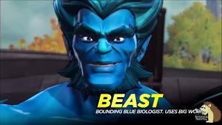 All X-Men Cutscenes In Marvel Ultimate Alliance 3 The Black Order