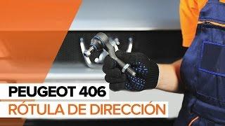 Cómo cambiar Rótula barra de dirección PEUGEOT 406 Break (8E/F) - vídeo gratis en línea