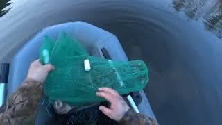 Рыбалка на сети Встреча с тигром И как мы спасали озеро от брошенных сетей