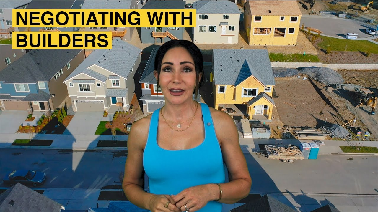 NEGOTIATING With Home Builders   Anne Curry Homes