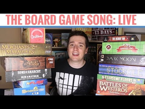 The Board Game Song: Live