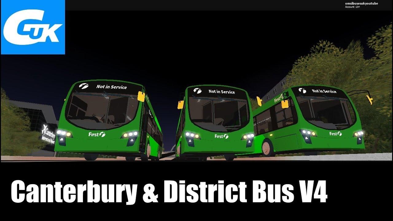New Canterbury District Bus Simulator V4 Beta Youtube