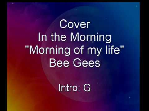 Morning Of My Life In The Morning Cover Bee Gees Lyrics Chords