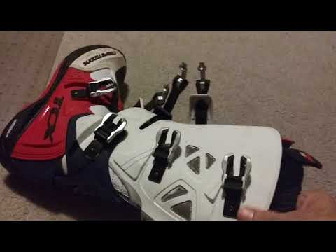 New mx motocross boot break in tip / hack dirtbike enduro riding