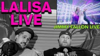 LISA: LALISA (TV Debut) | The Tonight Show Starring Jimmy Fallon REACTION