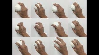 変化球の握り方 軟式編 野球 thumbnail