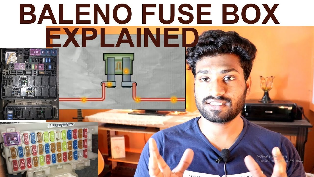 medium resolution of baleno fuse box explained how to change fuse