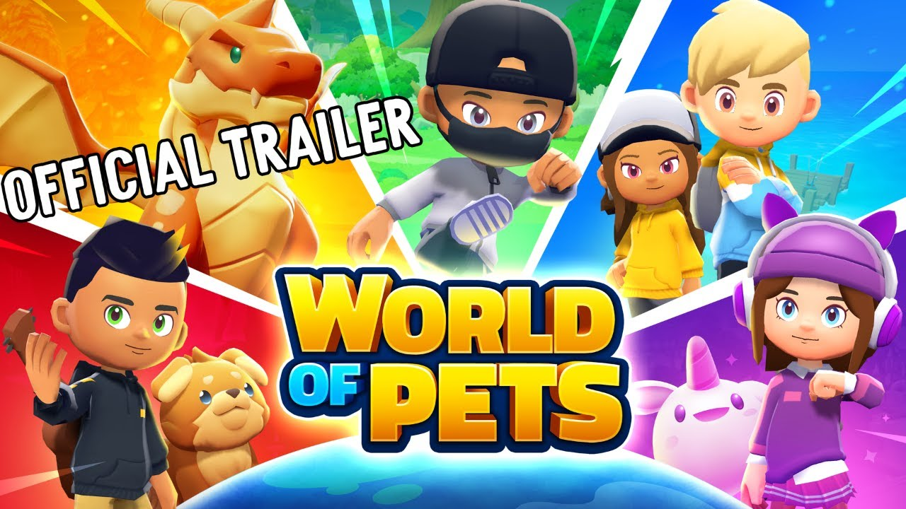 WORLD OF PETS (OFFICIAL GAME TRAILER)