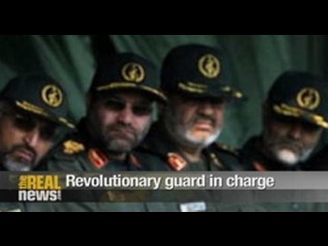 Revolutionary guard in charge
