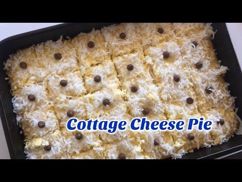 Cottage Cheese Pie. Easy Recipe.