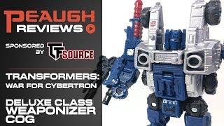 Video Review: Transformers: War for Cybertron SIEGE - Deluxe Class Weaponizer COG