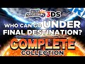 Smash Bros. 3DS - Who Can Go Under Final Destination? (COMPLETE Collection)